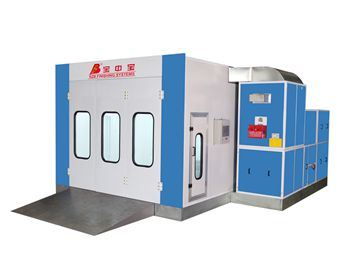 Auto Paint Booth for Car Painting in Car Garage Service Workshop pictures & photos