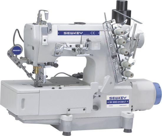 Sk500d-01CB/Ut Direct-Drive Automatic Thread Cutting Interlock Sewing Machine
