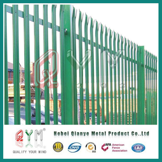 Garden Iron Fence Steel Palisade Fencing Wrought Design Picket