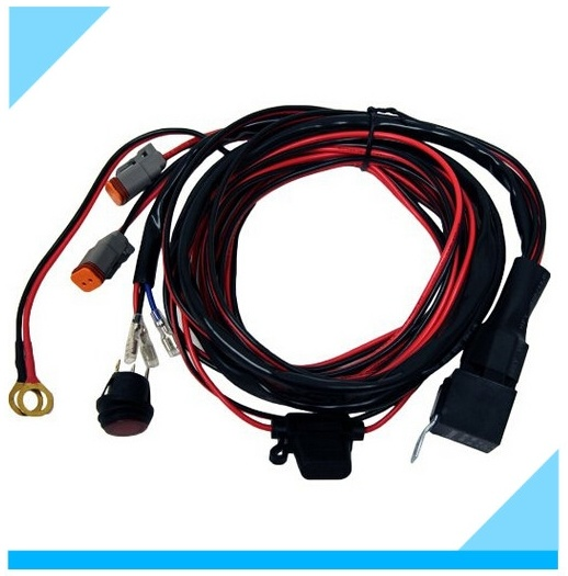 LED Switch Driving Light HID Relay Wiring Harness pictures & photos