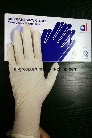Medical Synthetic Vinyl Glove From China Manufacturer