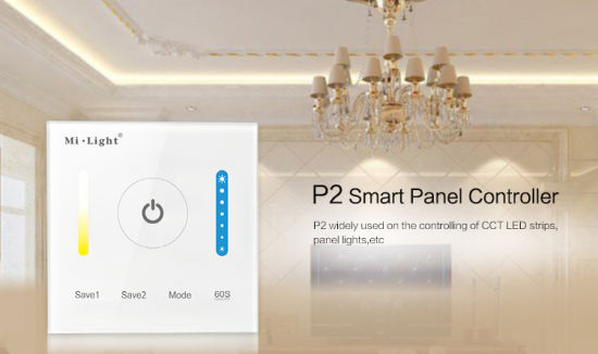 LED CCT Adjustable Strip Smart Panel Controller (P2) pictures & photos