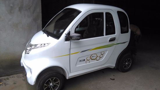 Electric 4 Wheelers Cars 800W 50km/H Mini Old Man Tricycle (DDSL-3) pictures & photos
