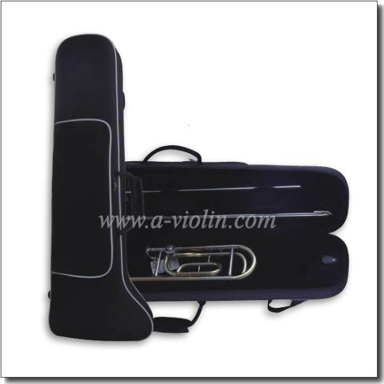 Quality Oxford Cloth Exterior Trombone Foamed Case (TBC006)
