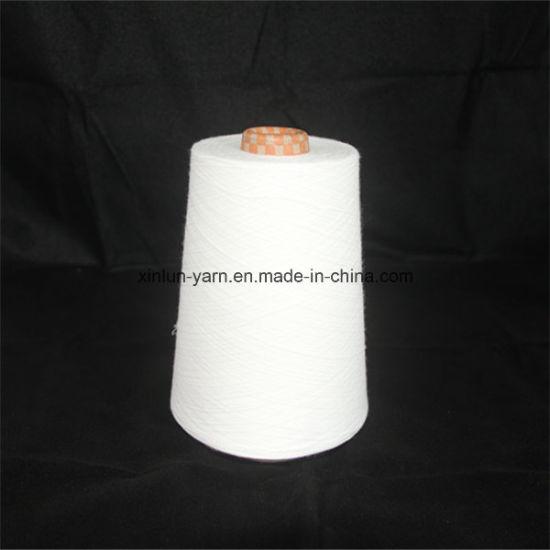 Ne 40/1 Virgin 100% Polyester Spun Knitting Yarn
