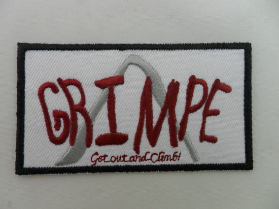 Sample Custom Embroidered Biker Back Patch pictures & photos