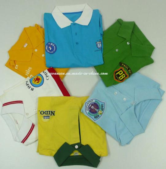 Custom Dye Sublimation Printing Logo Polo T Shirt