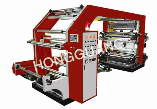 4 Color High Speed Flexo Printin Machinery pictures & photos