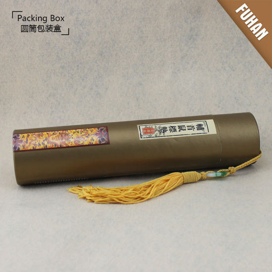 Factory Specializing Custom Cylinder Packing Gift Box pictures & photos