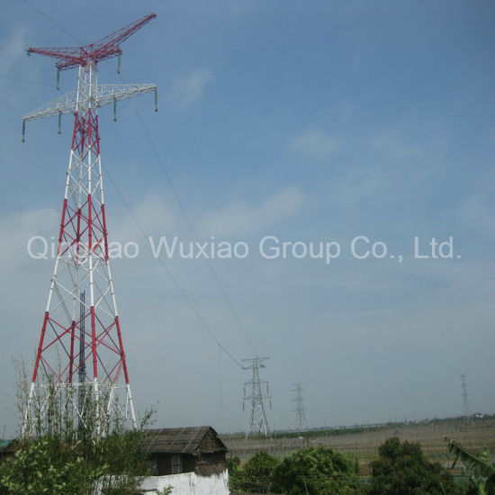 Power Transmission Line Steel Pipe Combination Tubular Tower pictures & photos