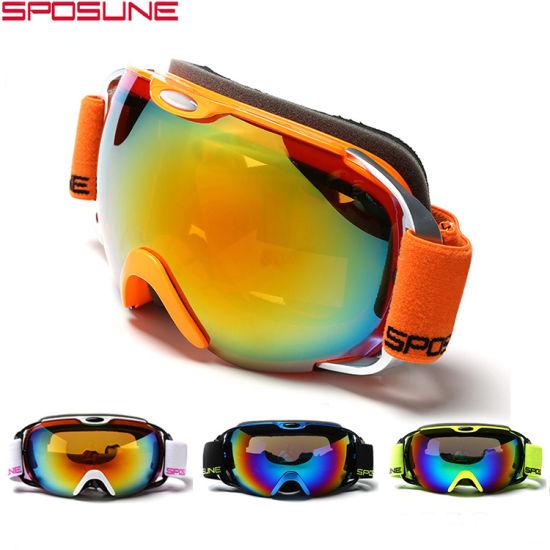 4bc30559e65 China Anti-Fog Snowboard Goggles Sale HD Vision Outdoor Sport Ski ...
