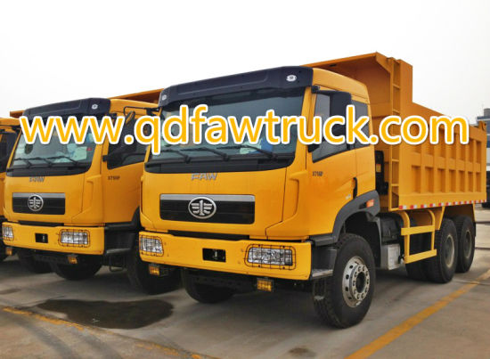 Hot Sale FAW Heavy Duty Sand Tipping Truck pictures & photos