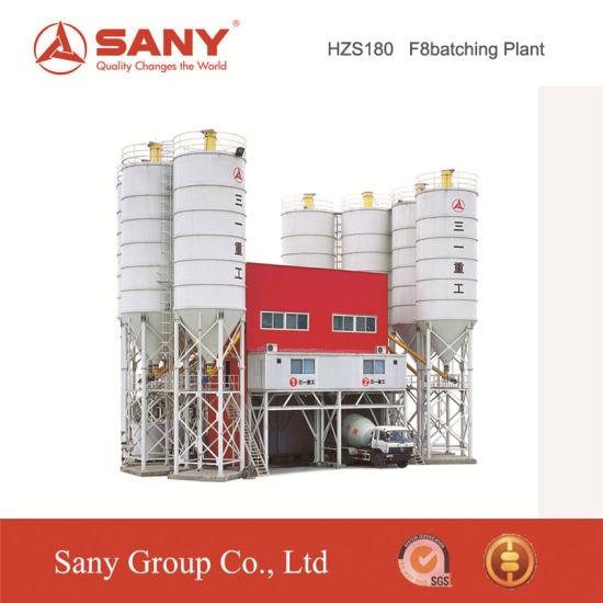 Sany Hzs90f8 90m3/H Concrete Batching Plant for Sale pictures & photos