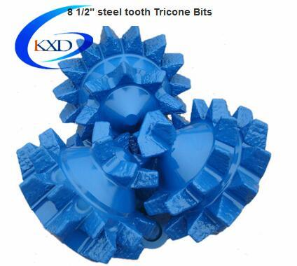 Open Bearing Mill Tooth Tricone Roller Bit