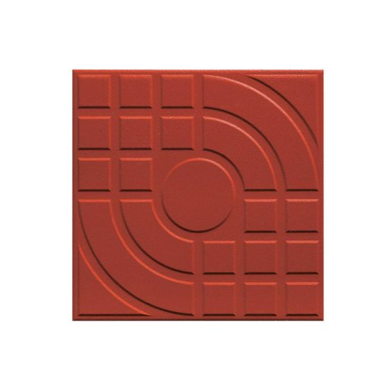 China Terracotta Clay Extruded Tile Dry Pressing Clay Floor Tiles