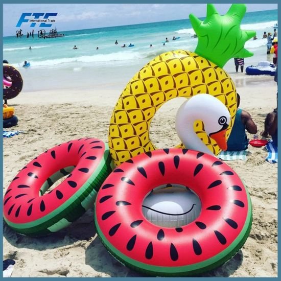 Various Giant Inflatable Pool Float Swimming Ring