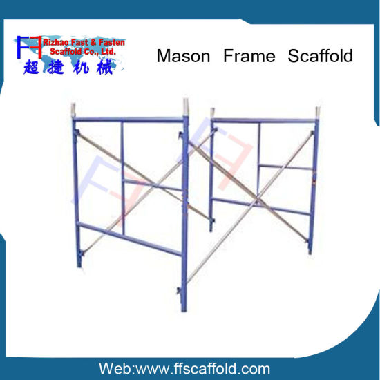 5′*5′ Steel Scaffold Single Ladder Frame for Construction (FF-668B) pictures & photos