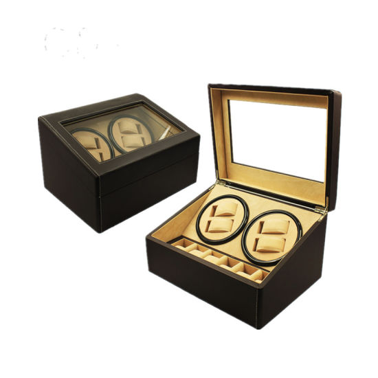 Top Quality Auto Silent (4+6) PU Leather Watch Winder pictures & photos