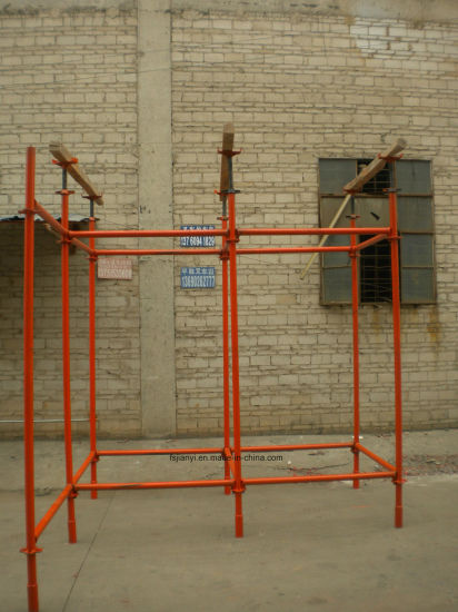 Steel Painted Quicklock Scaffold for Concrete Supporting pictures & photos