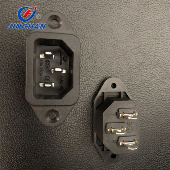 3pin Male AC Power Jack