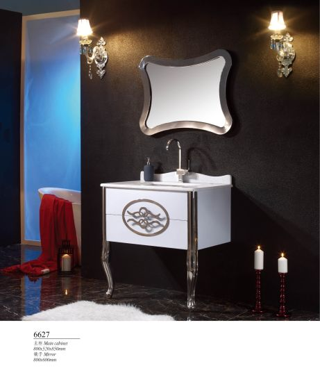 Hot Sell Luxury Hotel Stainless Steel Cabinet Vanities Bathroom Products