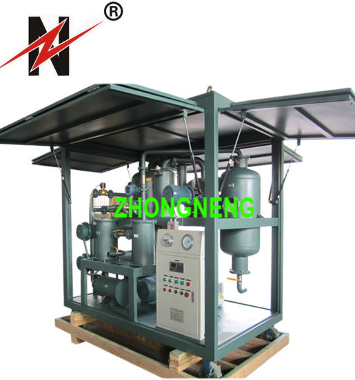 High Vacuum Oil Filtration Machine, Transformer Oil Purifier with ISO