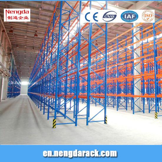 China Cold Storage Warehouse Rack Steel HD Pallet Rack