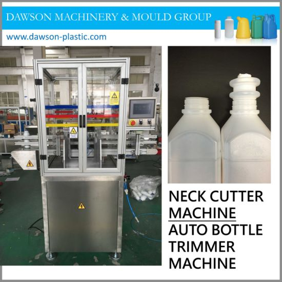 PE PP PVC Jars Bottles Auto Neck Trimmer Machine pictures & photos