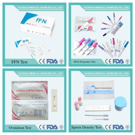 One Step Prostate Specific Antigen Psa Detection Test Cassette pictures & photos
