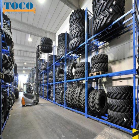 3000kg Metal Window Door Movable Stackable Pallet Rack with Wheels
