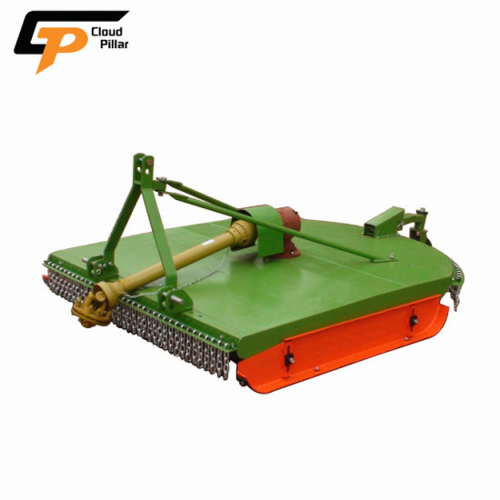 China Brush Gang 4WD Tractor Garden Wheel Drum Rotary Land Hay Mower Accessories Wholesale Flail Disc Lawn Mower Grass Cutter for Sale