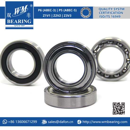 6007 Zz 2RS High Speed Spindle Radial Ball Bearing pictures & photos