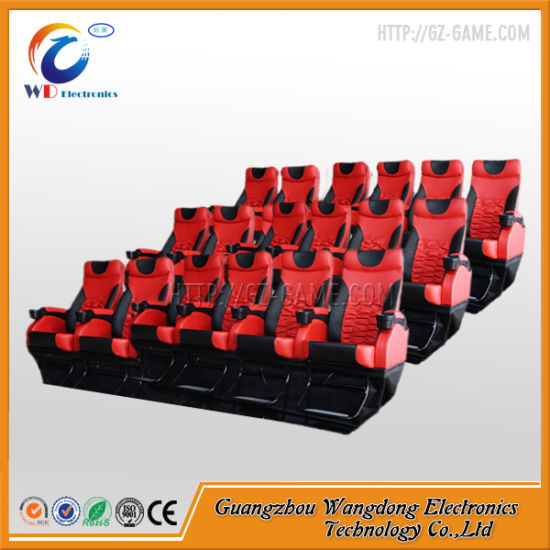 6dof Hydraulic 6 Seats System 7D Cinema pictures & photos