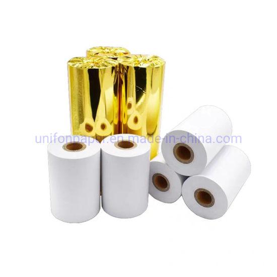 Unifon Gold Foil Thermal Cash Register Till Jumbo Paper Rolls