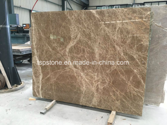 Natural Light Emperador Marble Stone for Floor Tile/Flooring Tile/Paving Stone/Stair/Tread/Window Sill/Countertop/Wall Tile
