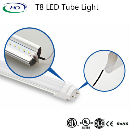 4FT 22W UL ETL Dlc Listed Bypass LED Tube Light pictures & photos