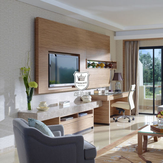 . Hotel Living Room Wall Unit for TV Latest Design Timber Wall Unite Images  Idea