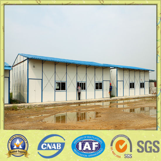 Sandwich Panel Prefabricated House Project pictures & photos
