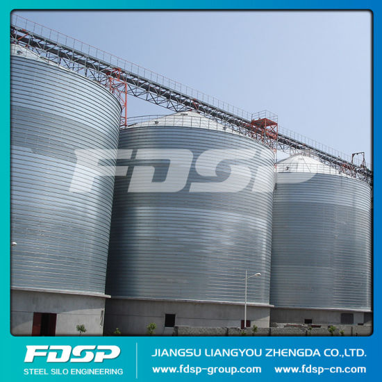 Compact Structure Silo for Grain Storage Cattle Feed Steel Silo pictures & photos