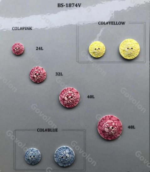 Fashion Hot Sell High-Class Round Buttons