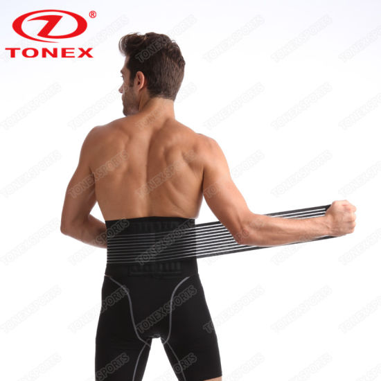 ba75c4cc01 Velcro Adjustable Weight Loss Slimming Belt Waist Trimmer Back Support for Men  Women ...