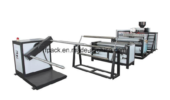 Double Layer PE Air Bubble Film Making Extruding Machine