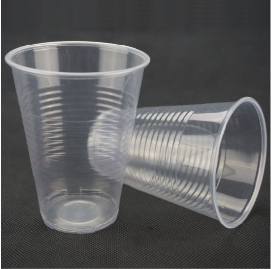 Low Cost 16oz Transparent Disposable Plastic Cup Without Lid pictures & photos