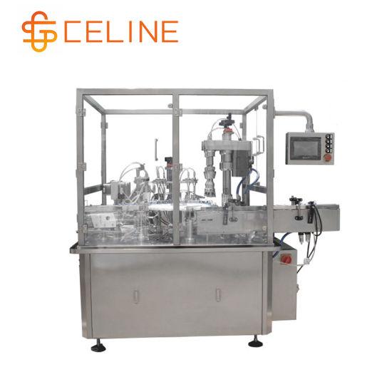 Automatic 5-30ml Glass Dropper Small Bottle E-Liquid Filling Capping Machine