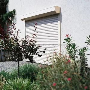 Whole Sale Automatic Security Aluminium Metal Roller Rolling Roll up Shutter Windows Garage Doors Shutter