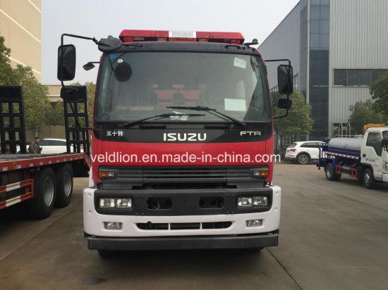 Japan Brand 4X2 6, 000liter Water Tank & 2, 000liter Foam Tank Fire Fighting Truck on Sales