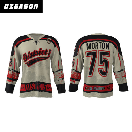 48dad890 Wholesale Professional Customized Dye Sublimated Hockey Jerseys Cheap Price  (H024) pictures & photos