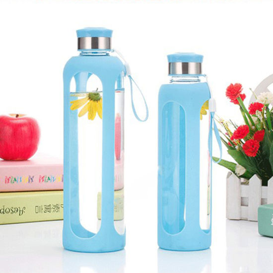 f171ba6a7 China 500ml Eco-Friendly Glass Water Bottle