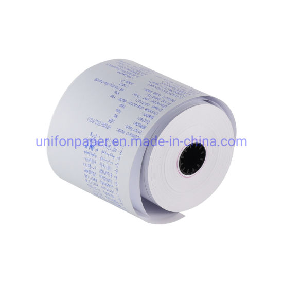 Direct Factory Coated Thermal Paepr Rolls OEM Offset Printing 80mm