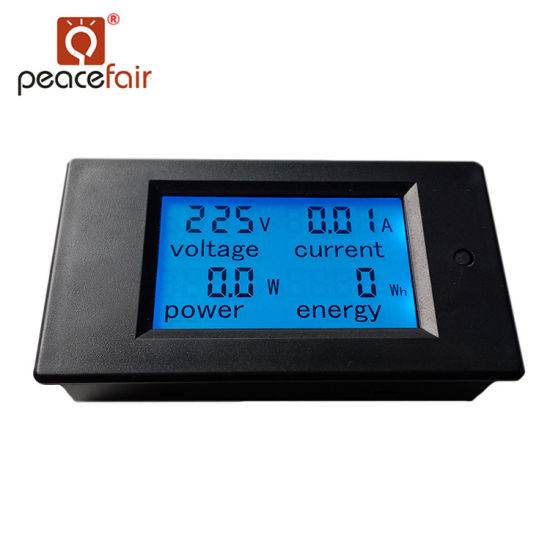 Pzem-021 Factory Supply 4in1 Digital Panel Kwh Meter Ammeter pictures & photos